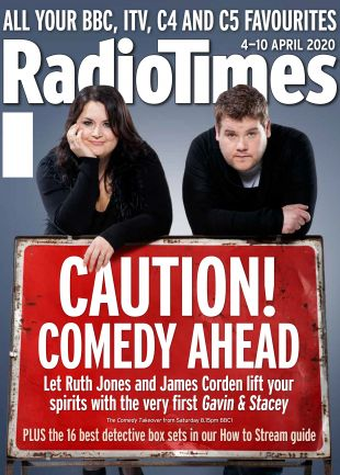 Ruth Jones & James Corden Cover
