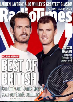Best of British Andy Murray Cover