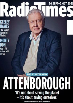 Week 40 David Attenborough cover holidays
