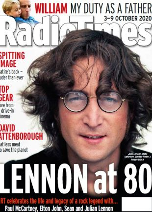 Week 41 John Lennon at 80 cover