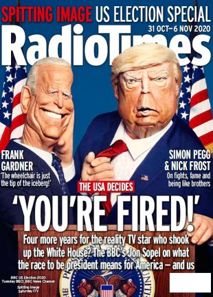 Week 45 Spitting Image US Election cover