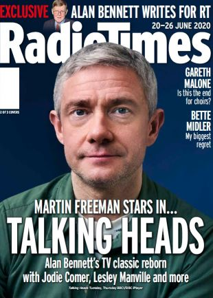 Martin Freeman Talkings Heads cover