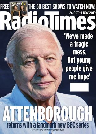 David Attenborough Cover